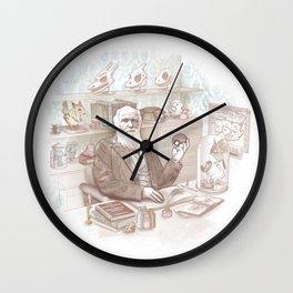 Endless Forms Most Battlefull Wall Clock