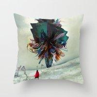 archan nair Throw Pillows featuring Soh:adoe by Archan Nair