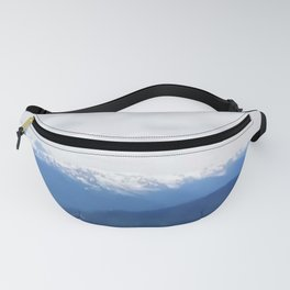 Many layers of a mountain view Fanny Pack
