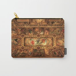 Midnight with Botticelli, Raphael, Michelangelo, & Perugino, Sistine Chapel, Rome Carry-All Pouch