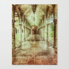 Courtly Canvas Print