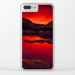 Red Lake Clear iPhone Case