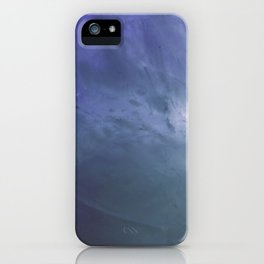 Watery Blue Crystal iPhone Case