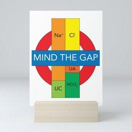 Mind the (Anion) Gap Mini Art Print