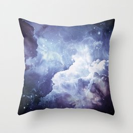 A Sky Made of Diamonds Throw Pillow