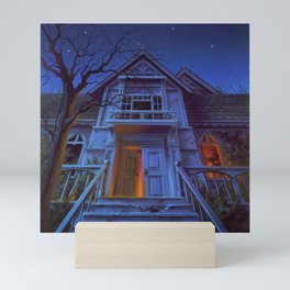 Welcome to Dead House Mini Art Print