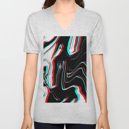 Trippy Confused Unisex V-Neck