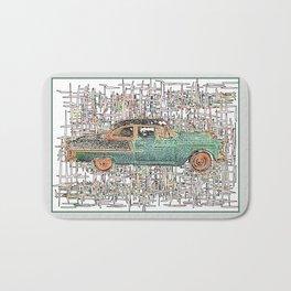 The Service Man's Car Bath Mat