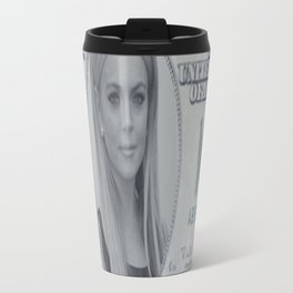 Lindsay Lohan money Travel Mug