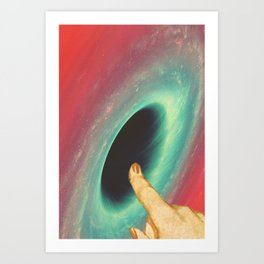 Black holes and revelations Art Print