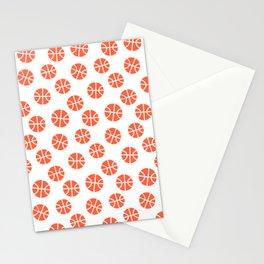 Basketball Pattern Stationery Cards