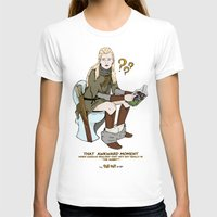 legolas T-shirts featuring That Awkward Moment by Pat Pot Designs