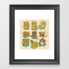First Generation Framed Art Print