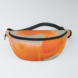 Red Poppies Fanny Pack