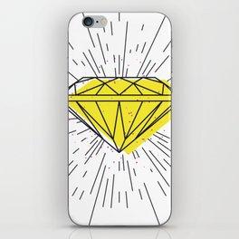 Shiny diamond iPhone Skin