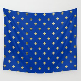 Royal Blue Wall Tapestry