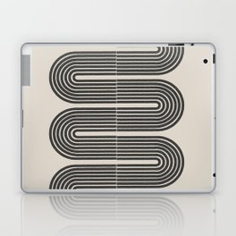 Geometric Mid Century Art Laptop & iPad Skin