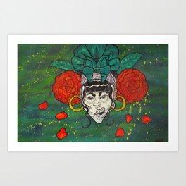DiaDeLosRosas Art Print