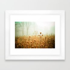 Daybreak in the Meadow Framed Art Print