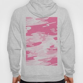 Pink army camouflage pattern design Hoody
