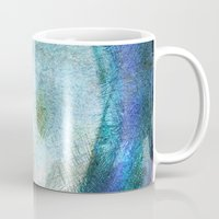saturn Mugs featuring Saturn by Fernando Vieira
