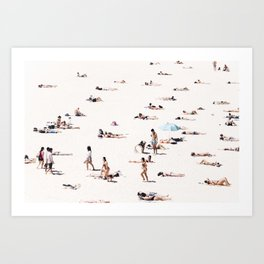 BONDI BEACH BUMS Art Print