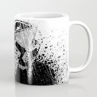 gladiator Mugs featuring The Gladiator by Matthew Dunn
