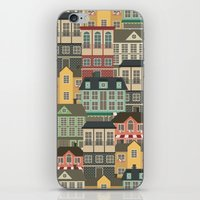 urban iPhone & iPod Skins featuring Urban by Julia Badeeva