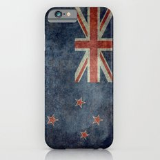 National flag of New Zealand - Retro vintage version to scale iPhone 6 Slim Case