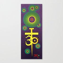 Bubbles t3oc Canvas Print