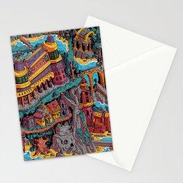 Mumbo Jumbo City (Color) Stationery Cards
