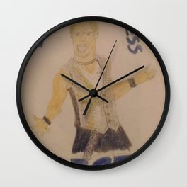 Chris Jericho-Let the Madness Begin. Wall Clock