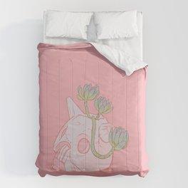 Nausicaä Succulent Planter // Coral Pink Version Comforters