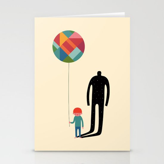 Grow Up Stationery Cards