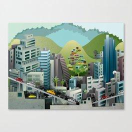 Caracas Canvas Print