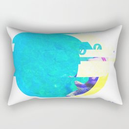 GLITCH NATURE #50: Tobermory Rectangular Pillow