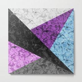 Marble Geometric Background G437 Metal Print