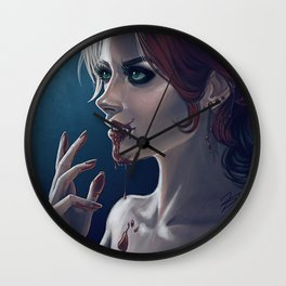 Come The Night Wall Clock