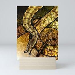 Tentacled Snake Mini Art Print