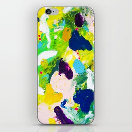 Steps of a woman iPhone Skin