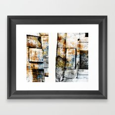 Aphasie Framed Art Print