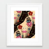 blossom Framed Art Prints featuring Blossom by Sartoris ART