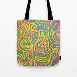 swirvled Tote Bag