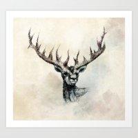 elk Art Prints featuring ELK by Arkady Zaifman