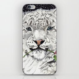 Snow Leopard iPhone Skin
