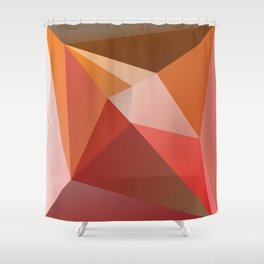 Abstract Composition 683 Shower Curtain