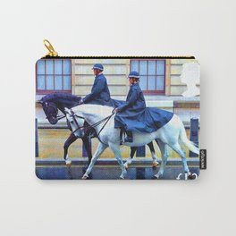 Police Horses Carry-All Pouch