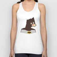 bat man Tank Tops featuring Bat Man by Ryder Doty