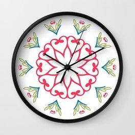 Patterns ornament Wall Clock
