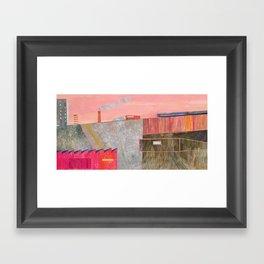 Nisja: the night train 3 Framed Art Print